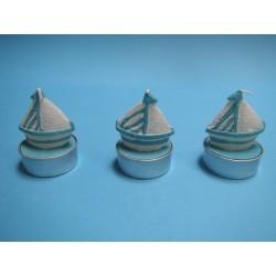 3 bougies bateau
