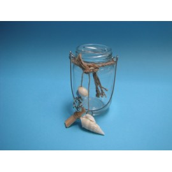 Photophore marin en verre