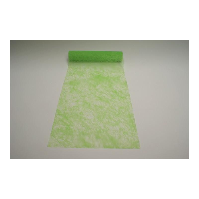 nappage chemin de table 10mx30cm vert anis un esprit de f te. Black Bedroom Furniture Sets. Home Design Ideas