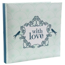 "livre d'or ""with love"" vert"