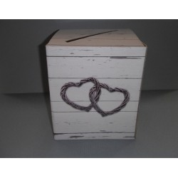 Tirelire carton romantica