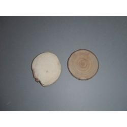 Disques en bois marque place (x4)