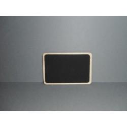 Ardoise en bois 8.5x5.5cm (x2)