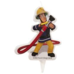 Bougie Sam le Pompier