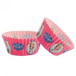 50 caissettes cupcakes 5x3cm frozen