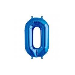 """chiffre ballon alu 86cm """"0"""""""