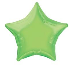 Ballon mylar étoile 50.8cm blanc