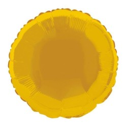 Ballon mylar rond 45.1cm or