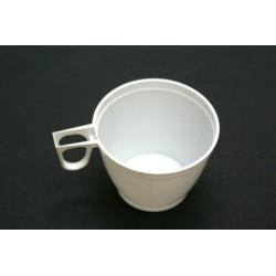 vaisselle : tasses blanches 18cl (les 50)