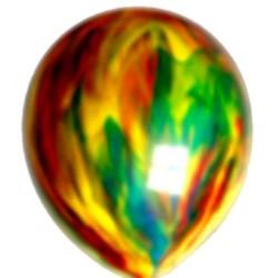 10 ballons marbrés 30cm
