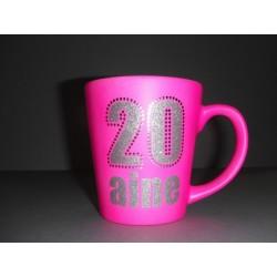 Mug 20 aine ROSE