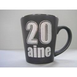 Mug 20 aine NOIR