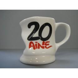 Tasse déformée 20ans