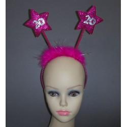 Serre-tête étoile 20 - rose