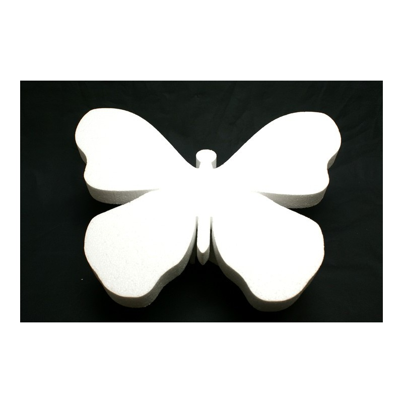 polystyrène : papillon GM