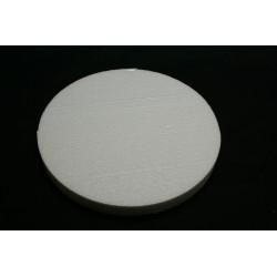 polystyrène : rond 100x100x29 mm