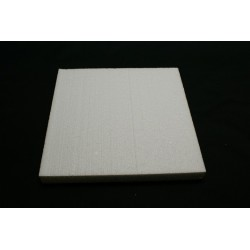 polystyrène : carré 100x100x29 mm