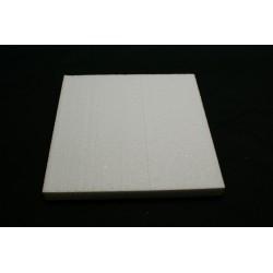 polystyrène : carré 200x200x29 mm